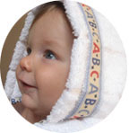 infant bath towel