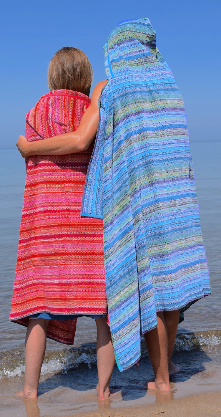 Colorful Hooded Beach Towels For Adults Towelhoodies
