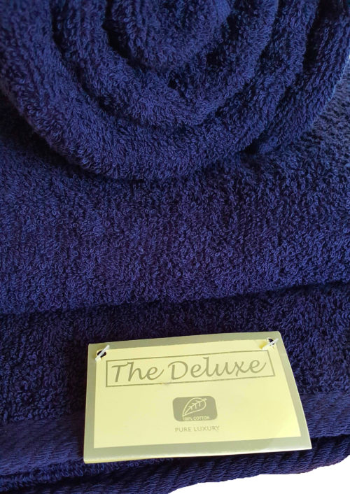 navy blue towels large